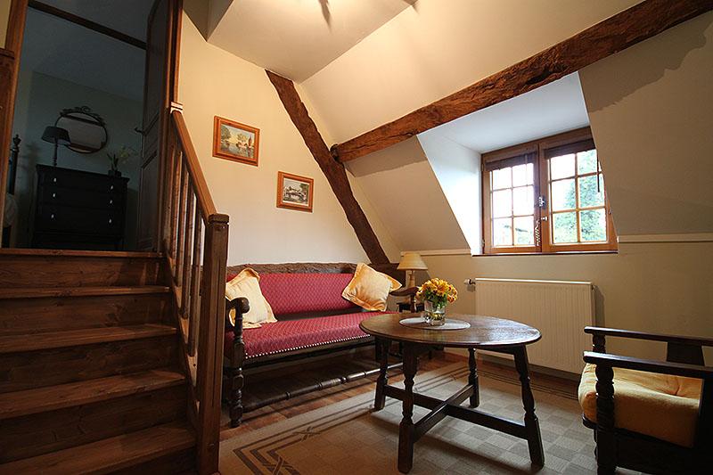 Les chambres du b b g tes la difference le pressoir basse normandie - Mezzanine trap ...